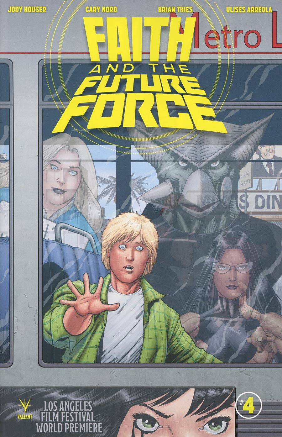 Faith And The Future Force #4 Cover A Regular Barry Kitson Cover