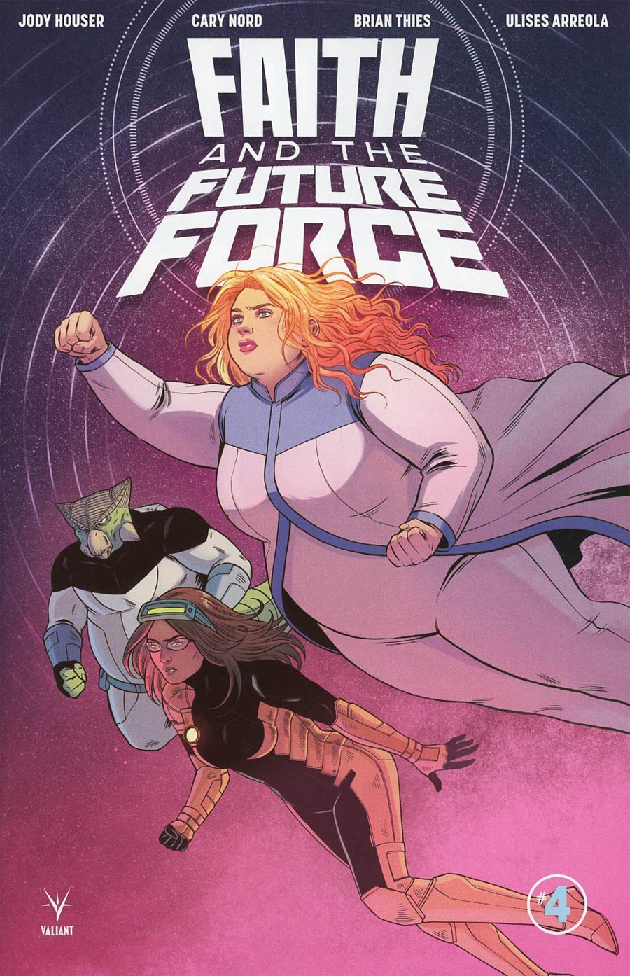 Faith And The Future Force #4 Cover B Variant Jen Bartel Cover