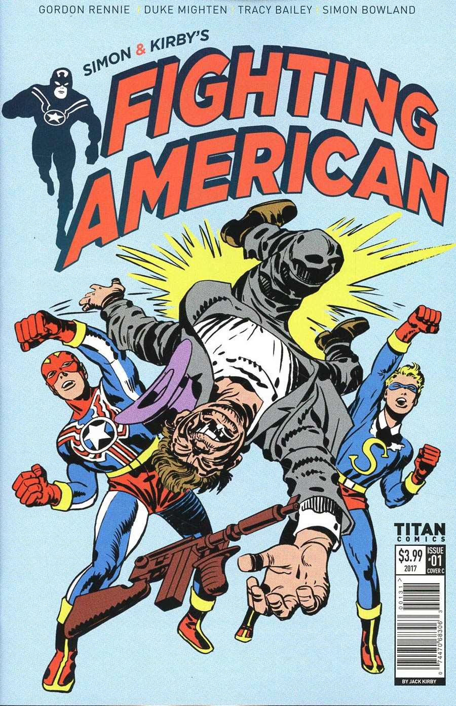 Fighting American Vol 4 #1 Cover C Variant Jack Kirby Cover