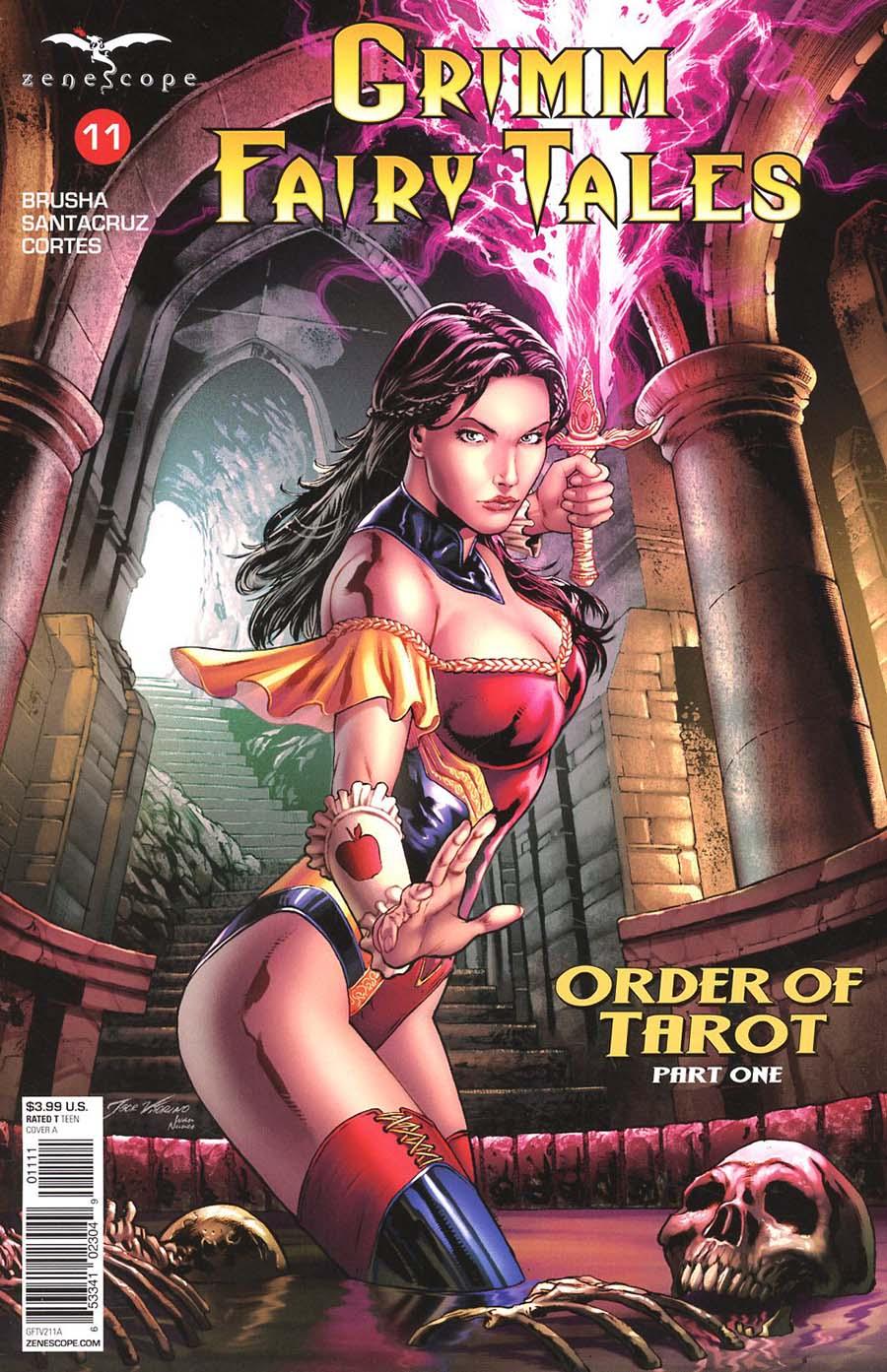 Grimm Fairy Tales Vol 2 #11 Cover A Igor Vitorino