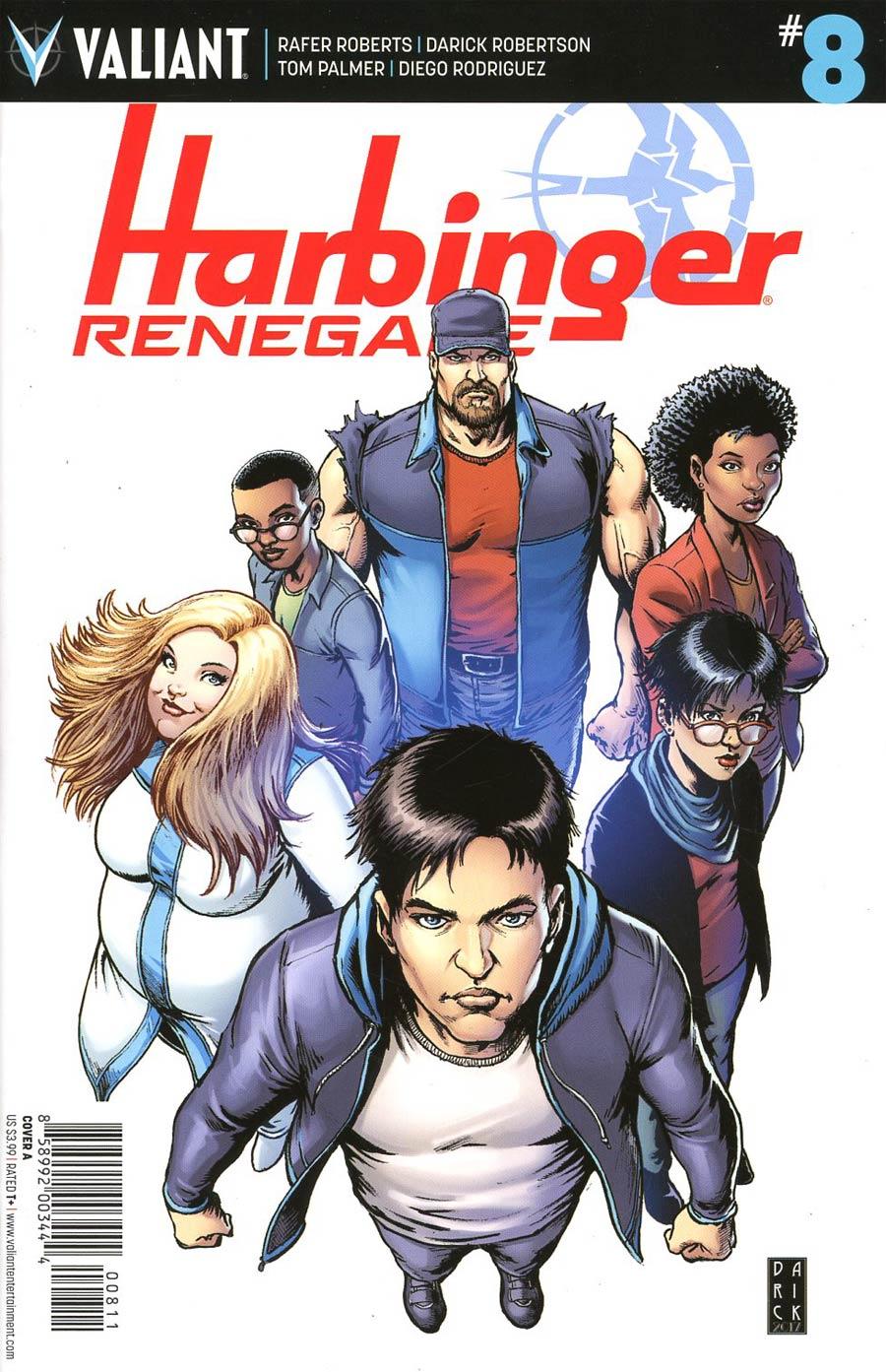 Harbinger Renegade #8 Cover A Regular Darick Robertson Cover