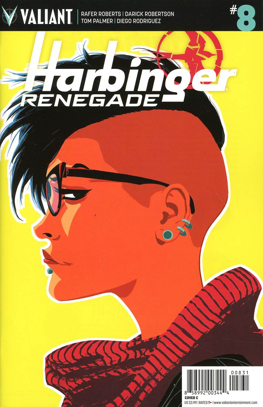 Harbinger Renegade #8 Cover C Variant Kano Cover
