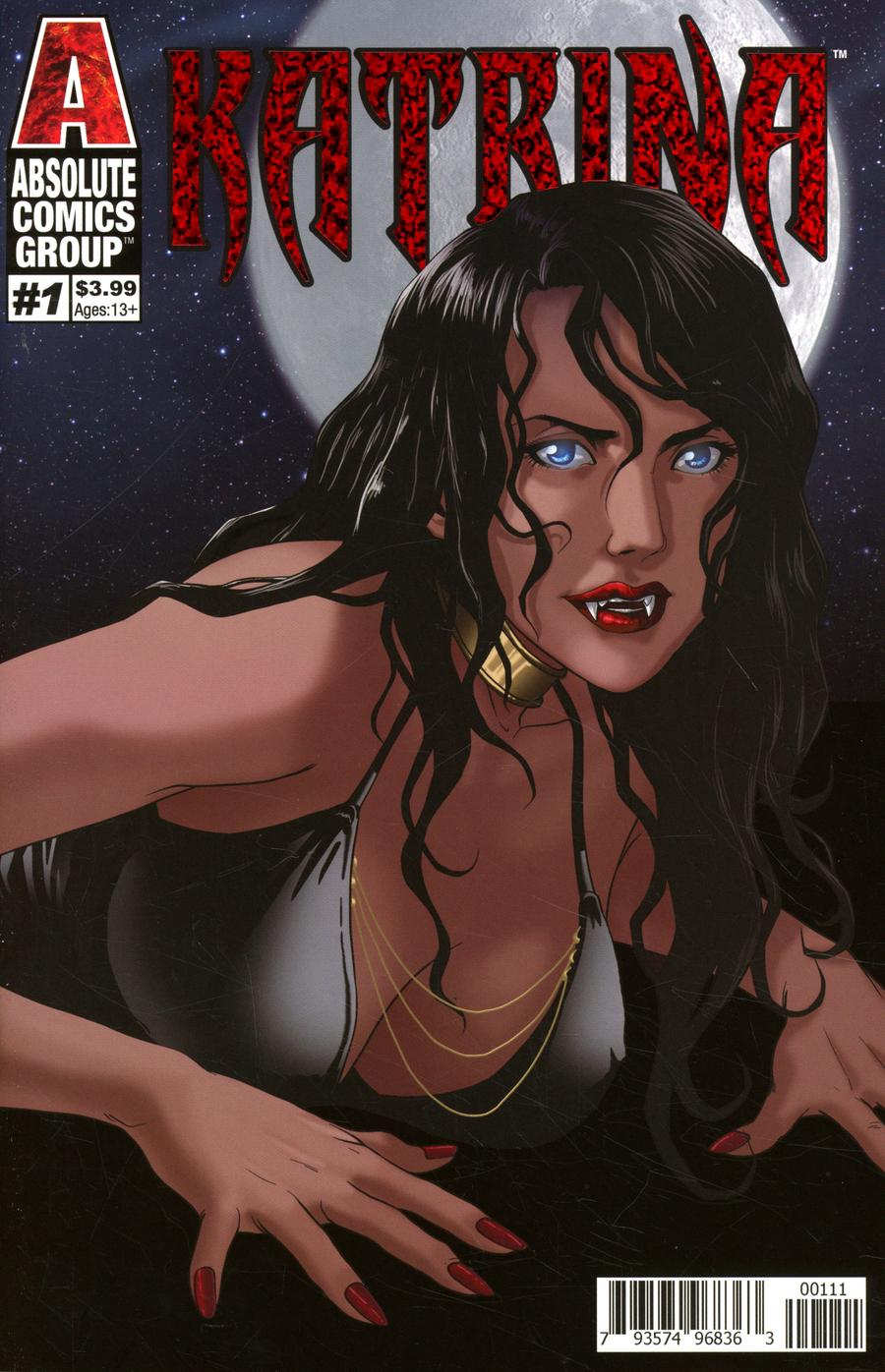 Katrina #1 Cover A Regular Twinkle Planet Cover