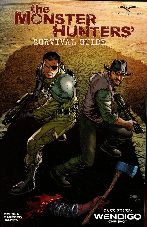 Monster Hunters Survival Guide Case Files Wendigo #1 Cover A Sean Chen