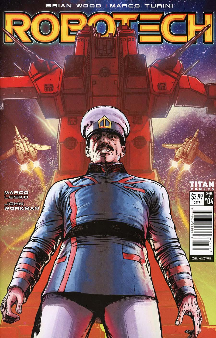 Robotech Vol 3 #4 Cover A Regular Marco Turini Cover