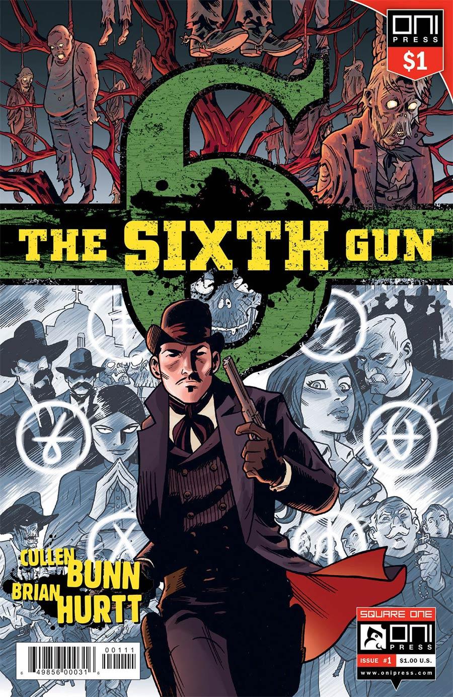 Sixth Gun #1 Cover B 1 Dollar Edition