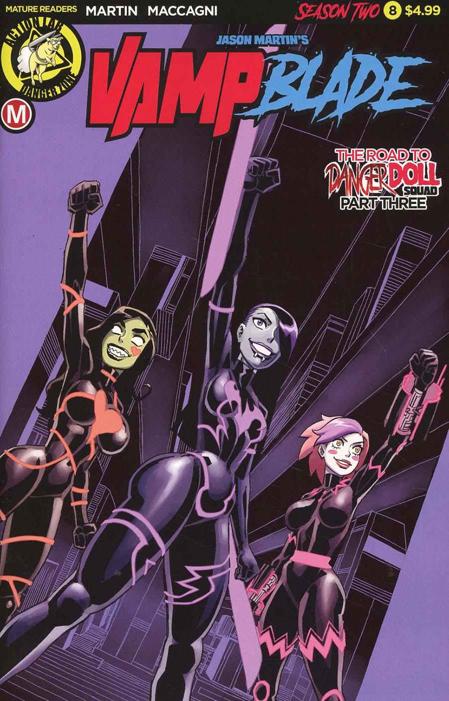 Vampblade Season 2 #8 Cover A Regular Winston Young Cover