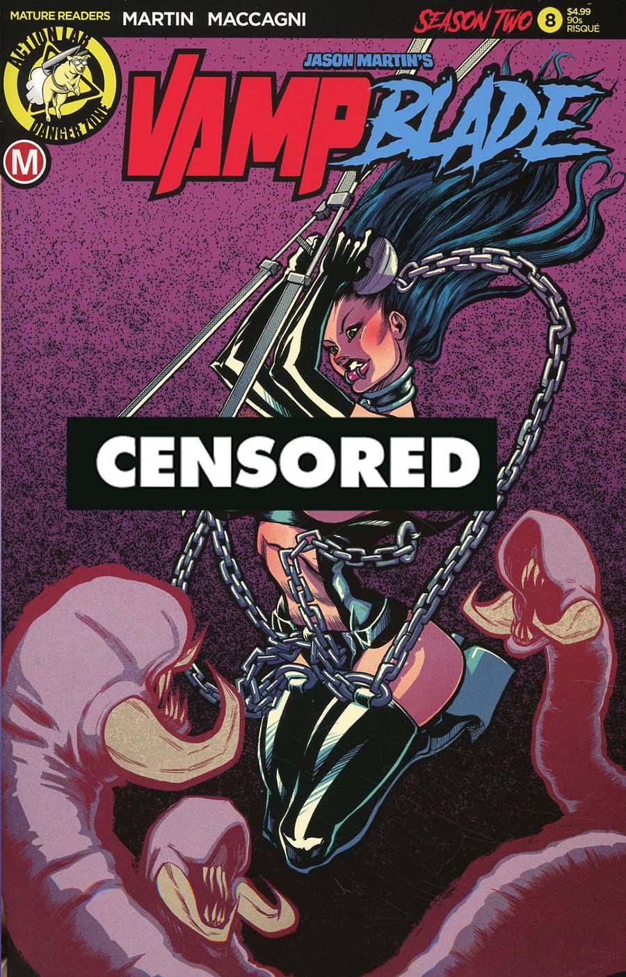 Vampblade Season 2 #8 Cover F Variant Timothy Weaver 1990s Risque Cover