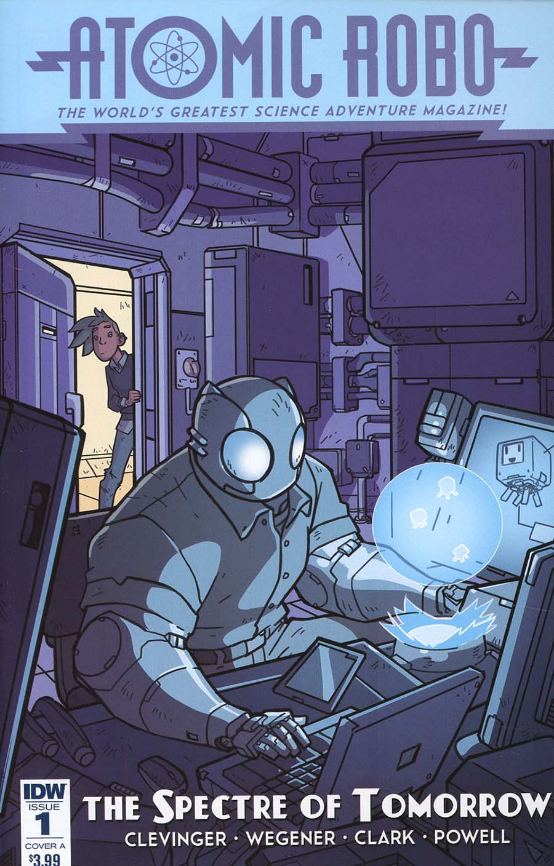 Atomic Robo And The Spectre Of Tomorrow #1 Cover A Regular Scott Wegener Cover