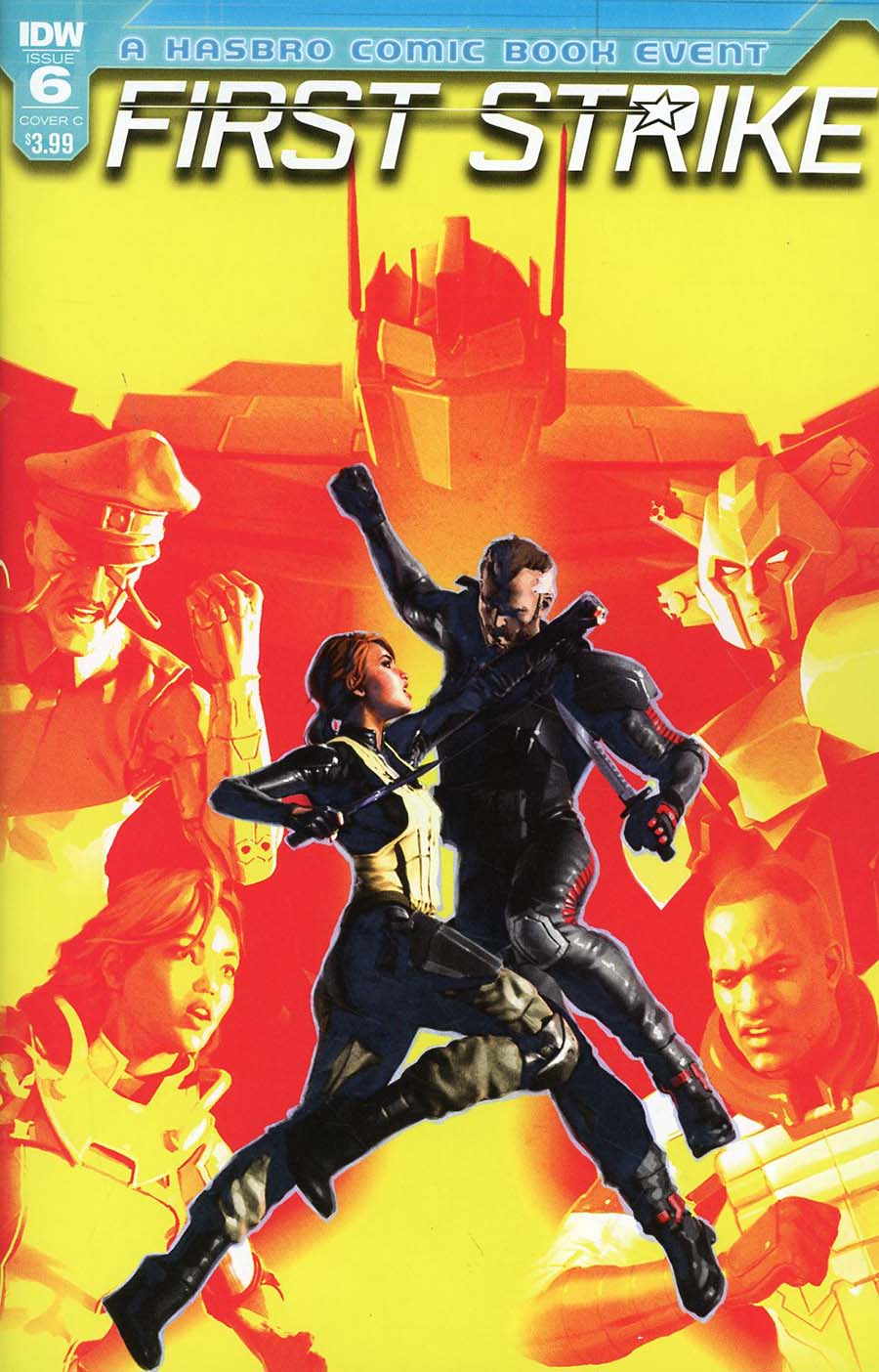 First Strike #6 Cover C Variant Alex Ronald Cover