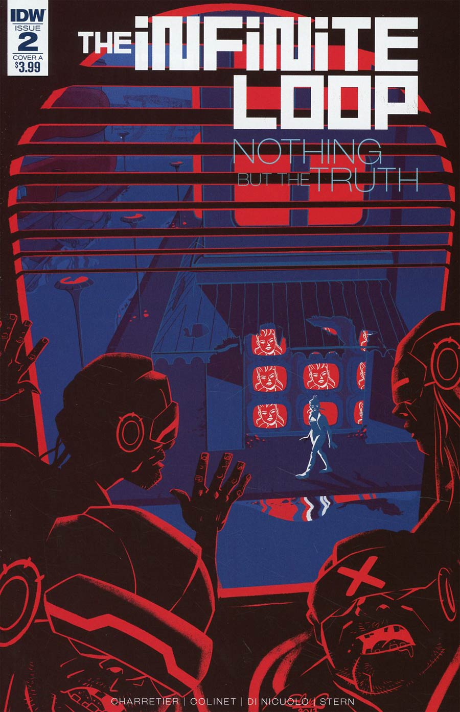 Infinite Loop Nothing But The Truth #2 Cover A Regular Elsa Charretier Cover