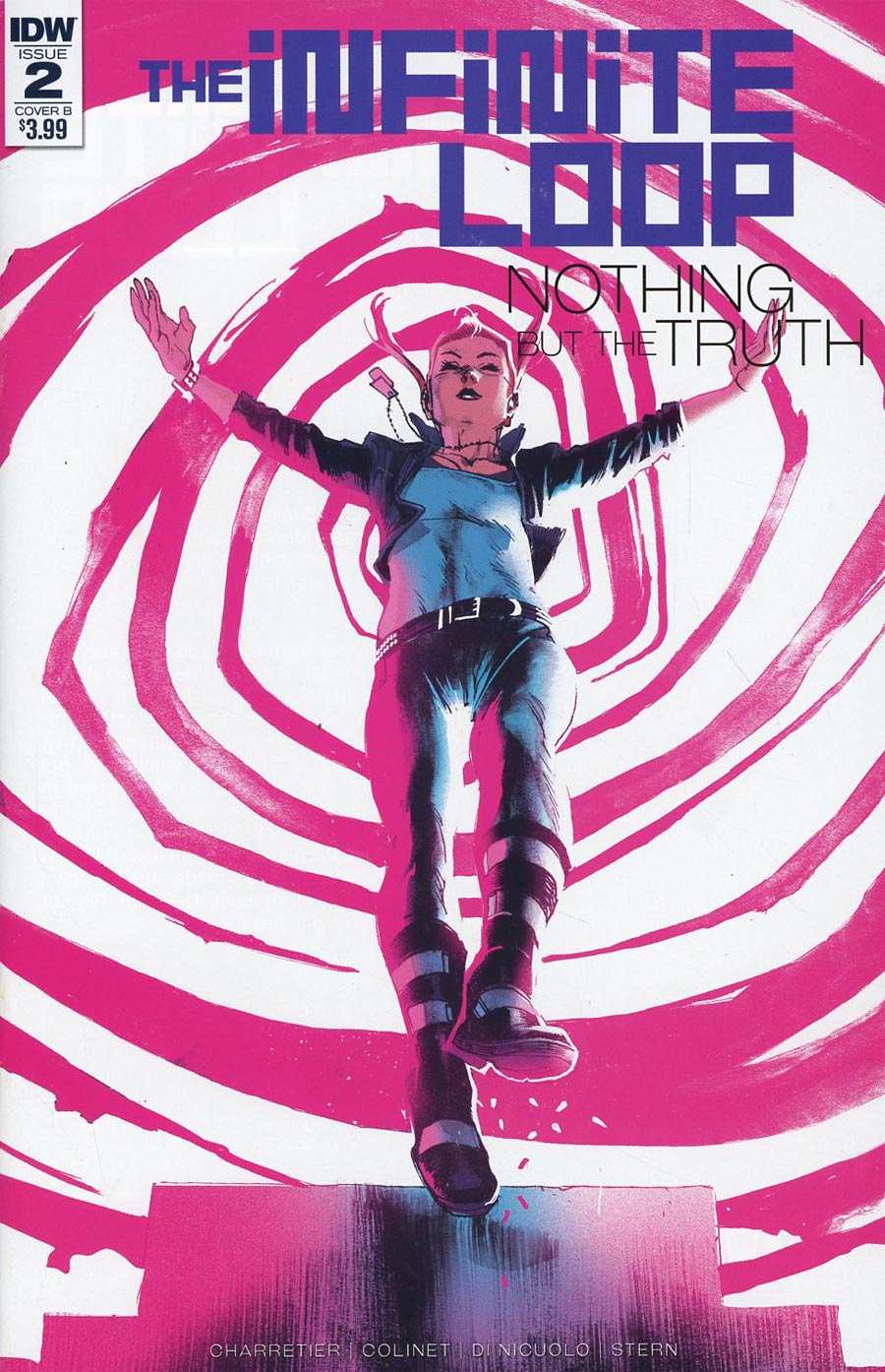 Infinite Loop Nothing But The Truth #2 Cover B Variant Rafael Albuquerque Cover