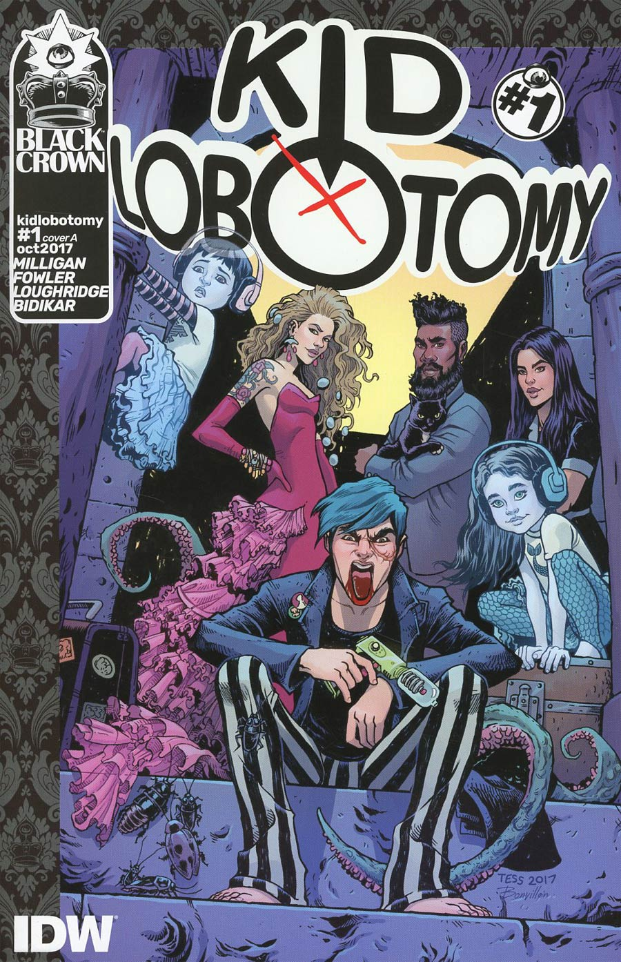 Kid Lobotomy #1 Cover A Regular Tess Fowler Cover