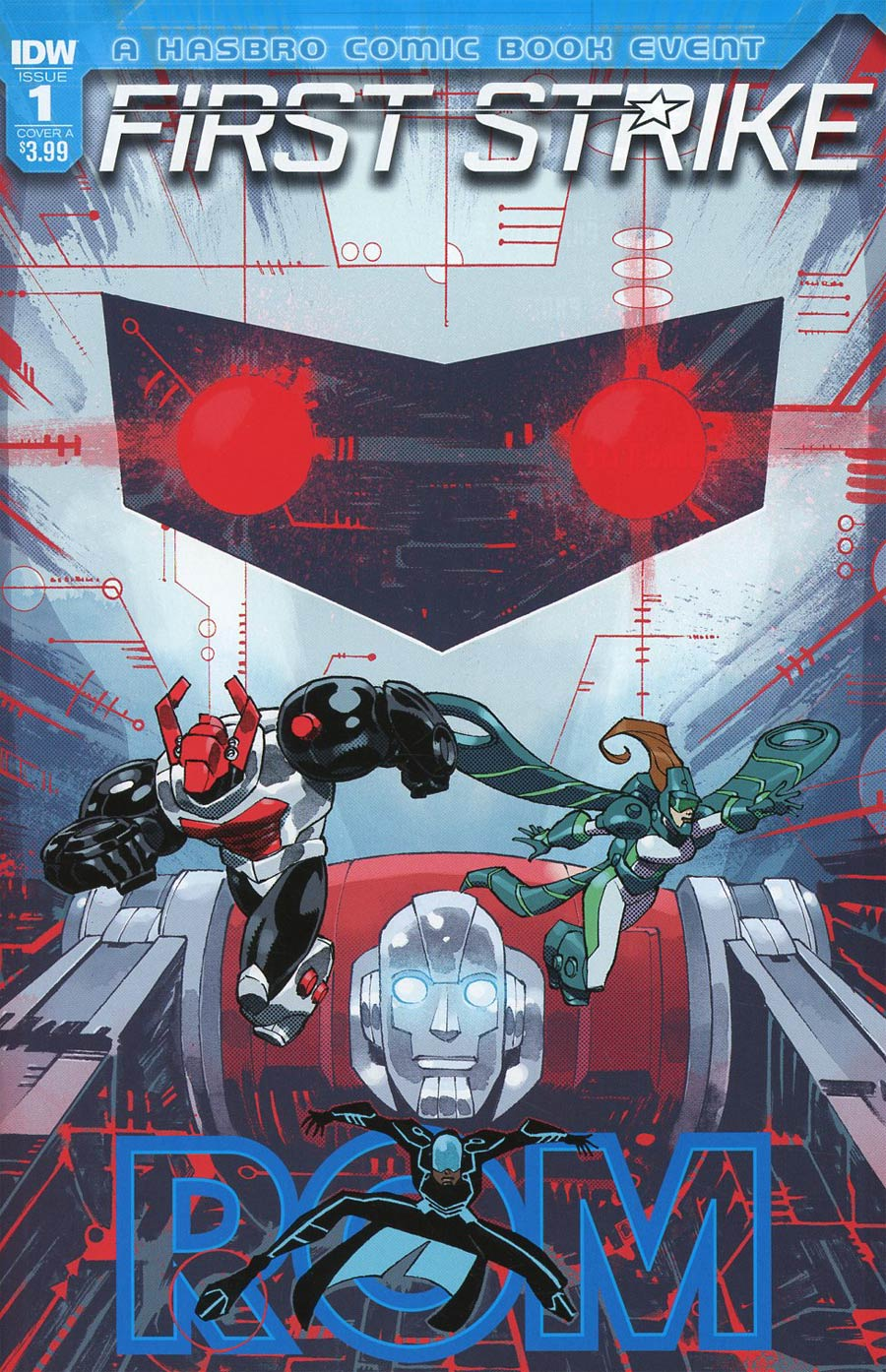 ROM First Strike #1 Cover A Regular Nelson Daniel Cover