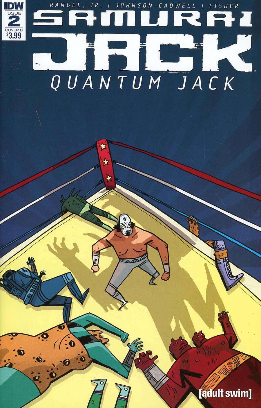 Samurai Jack Quantum Jack #2 Cover B Variant Warwick Johnson Cadwell Cover