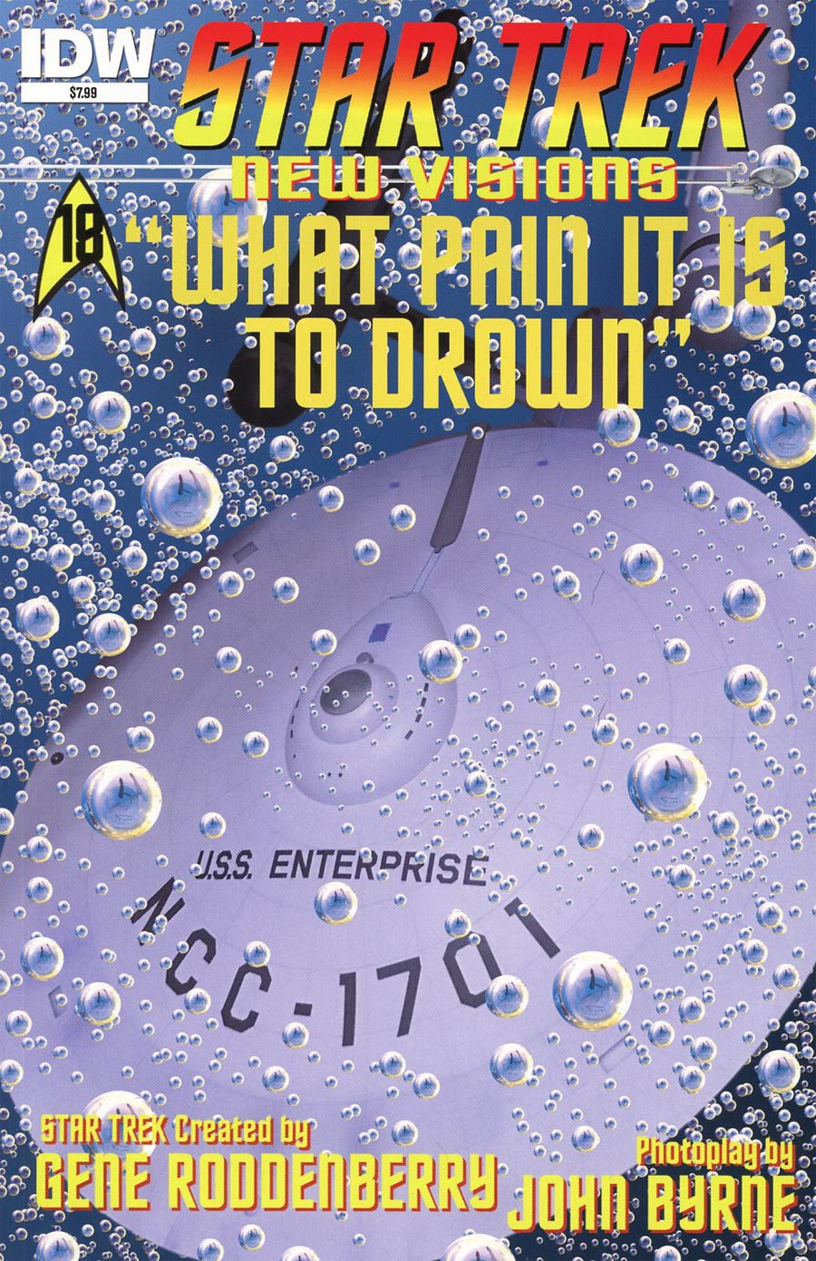Star Trek New Visions #16 What Pain It Is To Drown