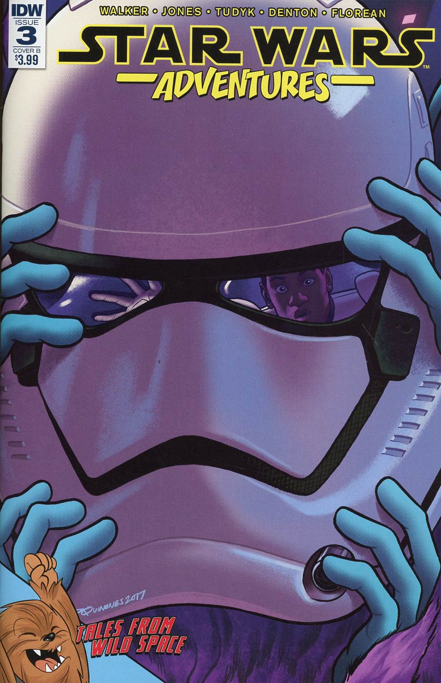 Star Wars Adventures #3 Cover B Variant Babs Tarr Cover