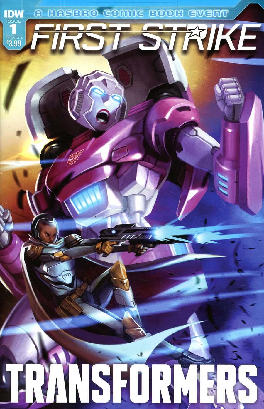 Transformers First Strike #1 Cover A Regular Sara Pitre-Durocher Cover
