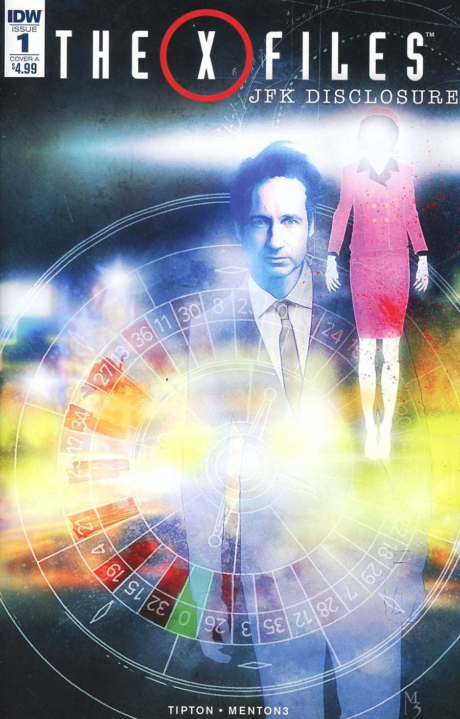 X-Files JFK Disclosure #1 Cover A Regular Menton3 Cover