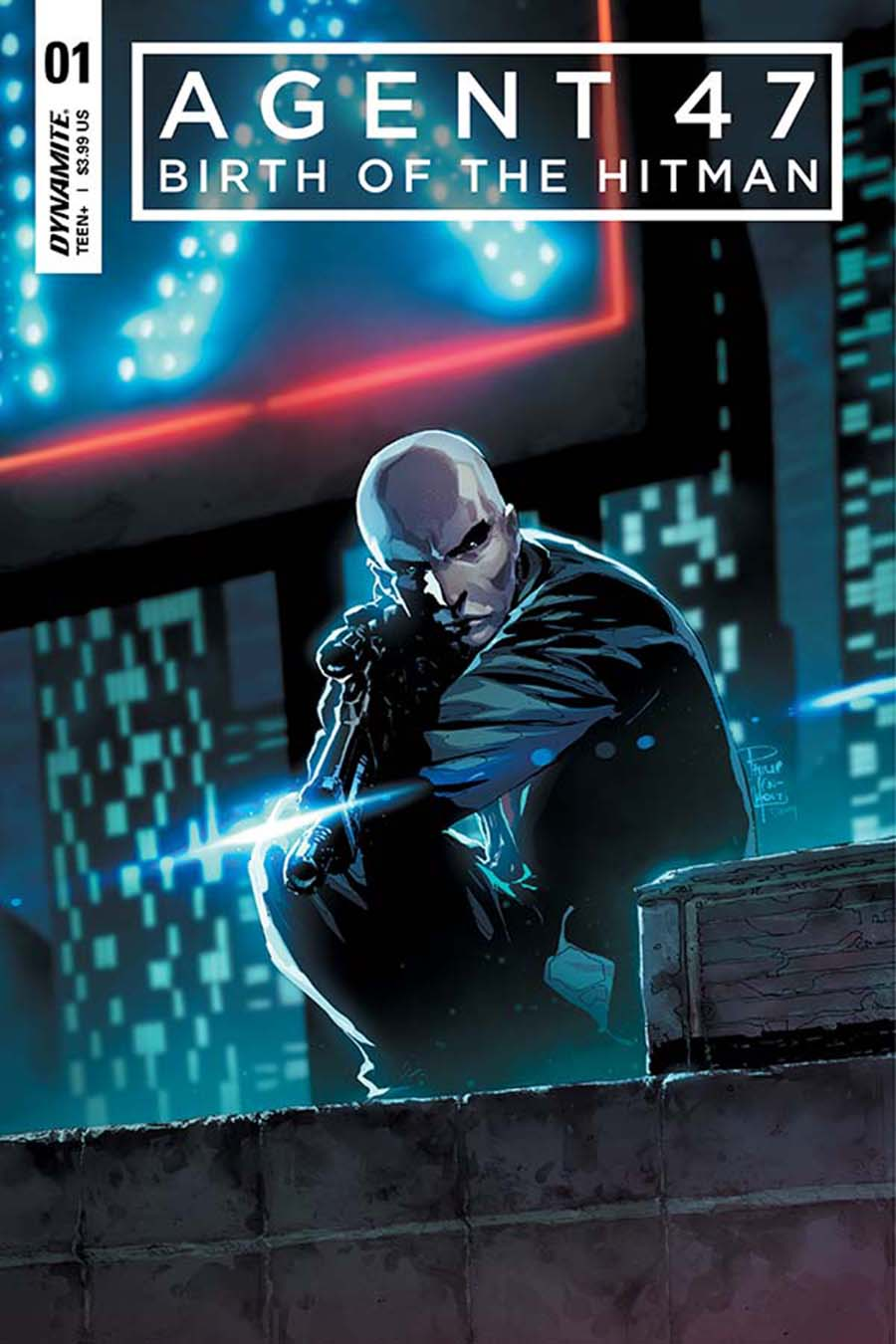 Agent 47 Birth Of The Hitman #1 Cover A Regular Philip Tan Cover