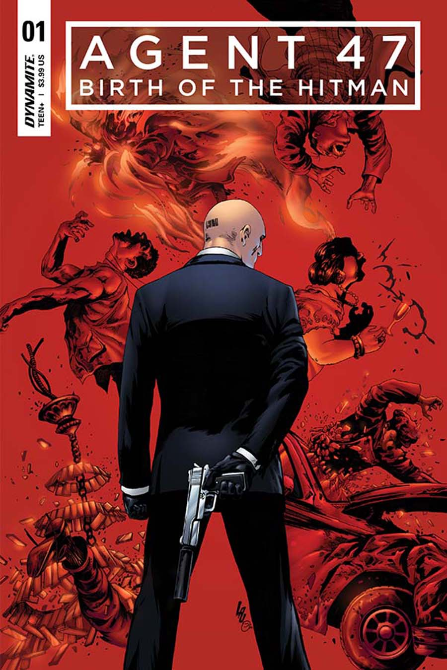 Agent 47 Birth Of The Hitman #1 Cover B Variant Jonathan Lau Cover