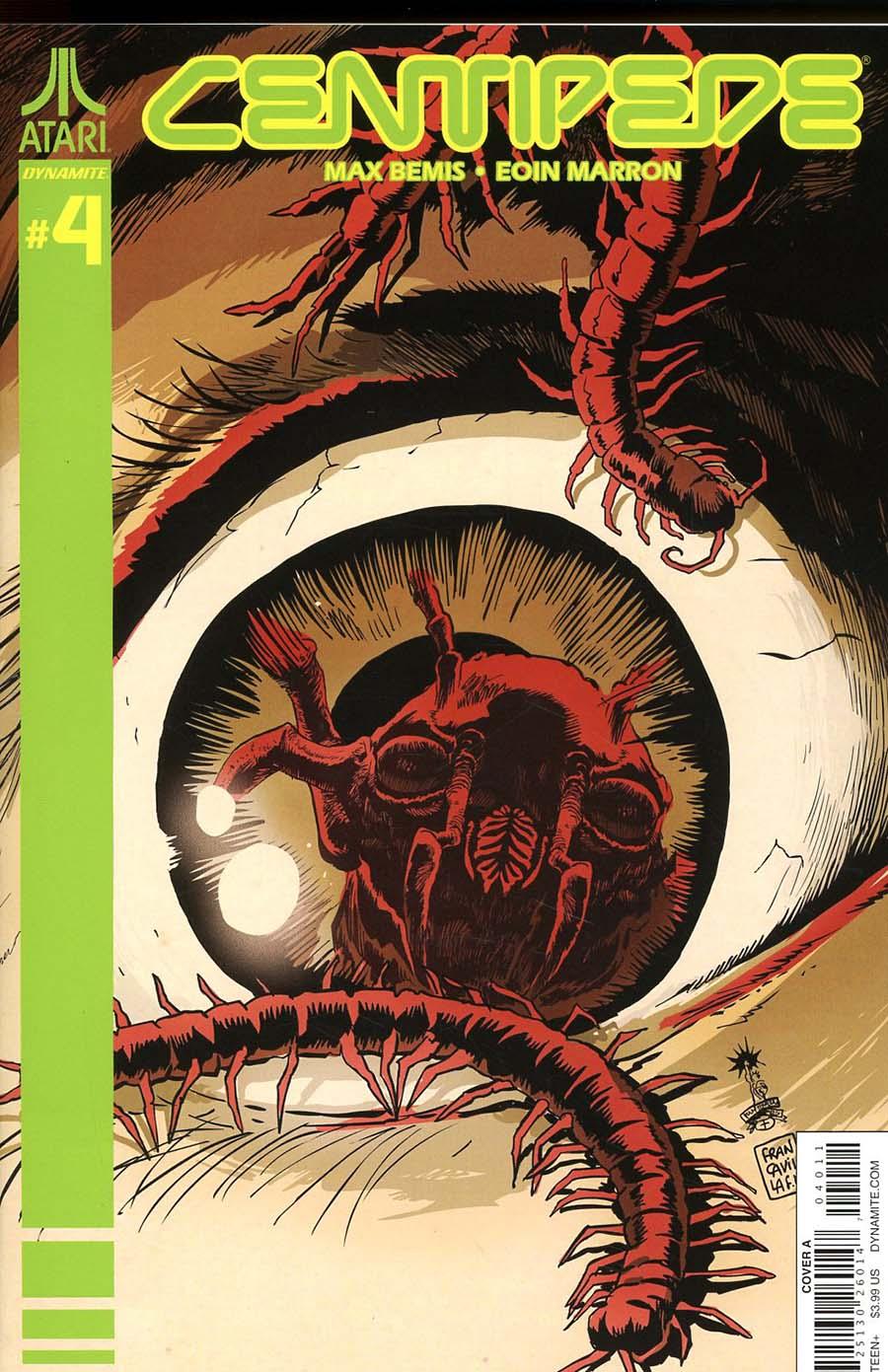 Centipede #4 Cover A Regular Francesco Francavilla Cover