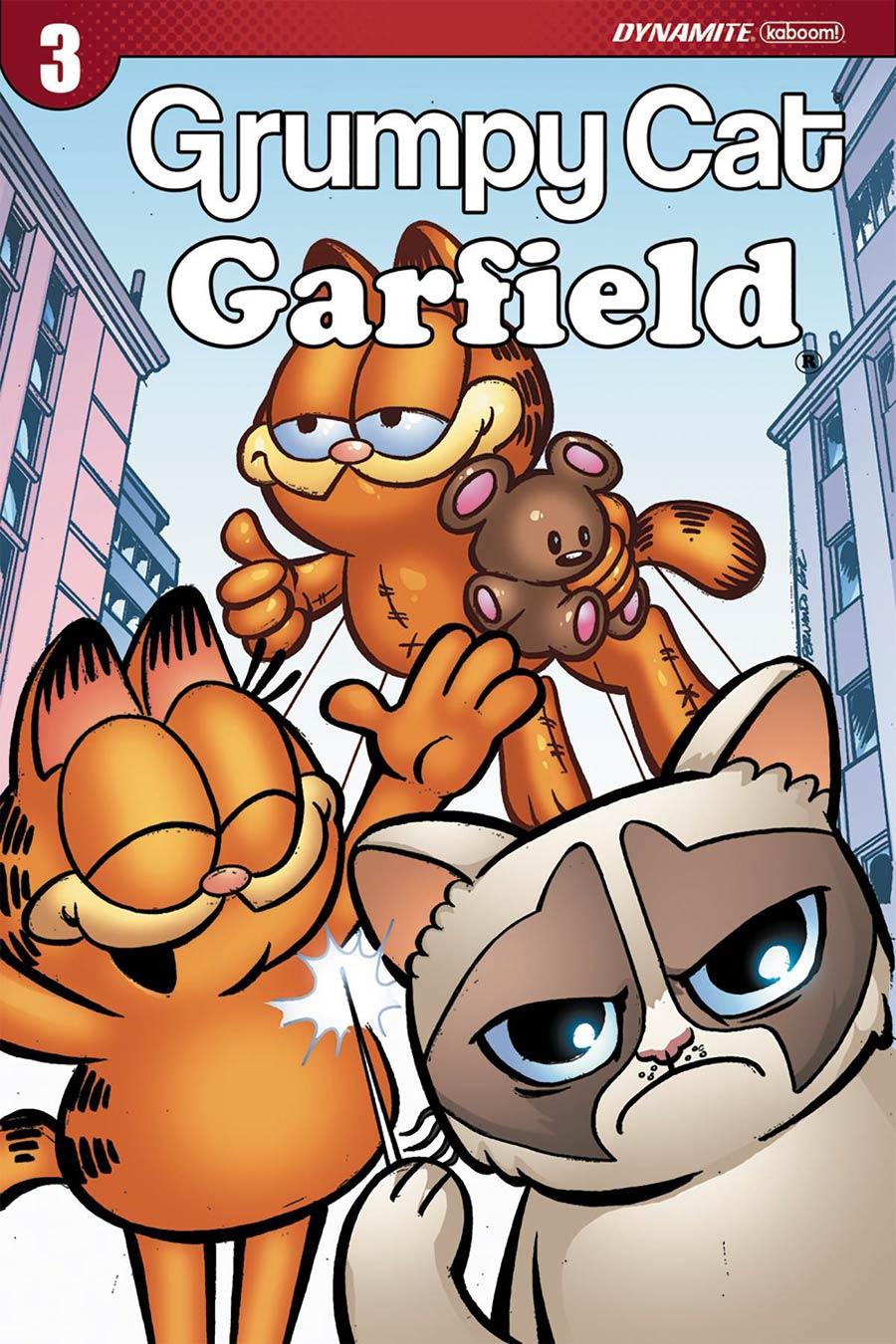 Grumpy Cat Garfield #3 Cover C Variant Fernando Ruiz Cover