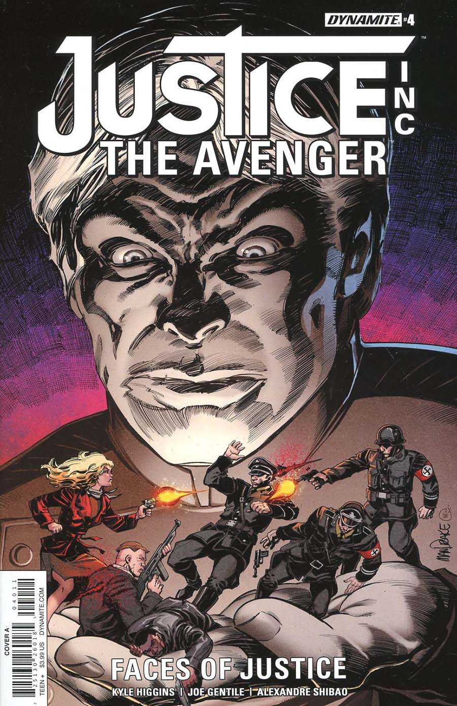Justice Inc The Avenger Faces Of Justice #4