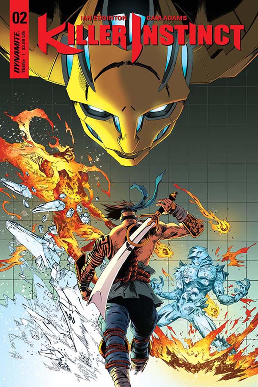 Killer Instinct Vol 2 #2 Cover B Variant Jonathan Lau Cover
