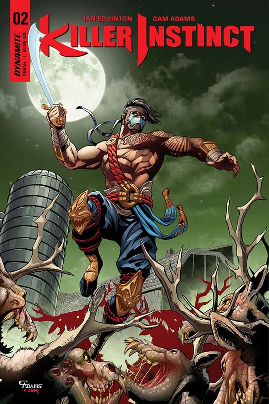 Killer Instinct Vol 2 #2 Cover C Variant Cam Adams Subscription Cover
