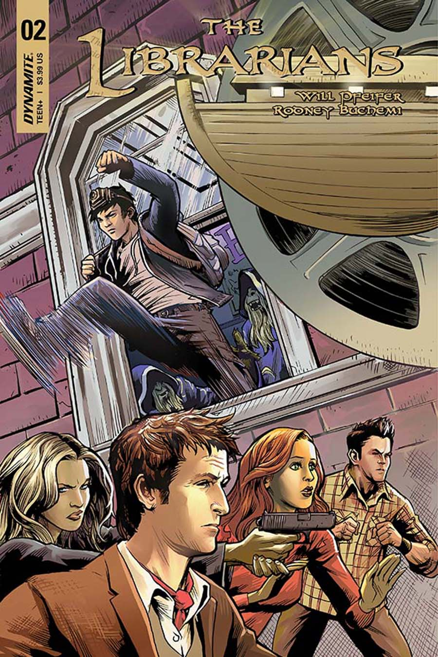 Librarians #2 Cover A Regular Karl Moline Cover