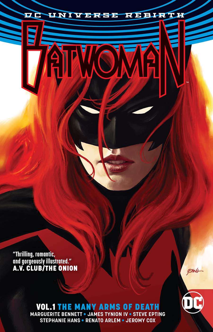 Batwoman (Rebirth) Vol 1 The Many Arms Of Death TP