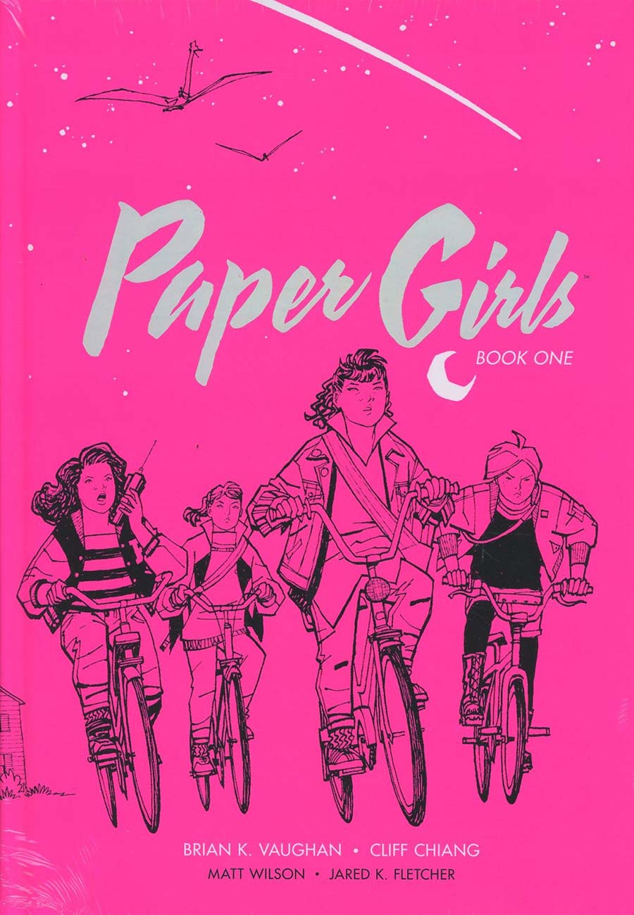 Paper Girls Deluxe Edition Vol 1 HC