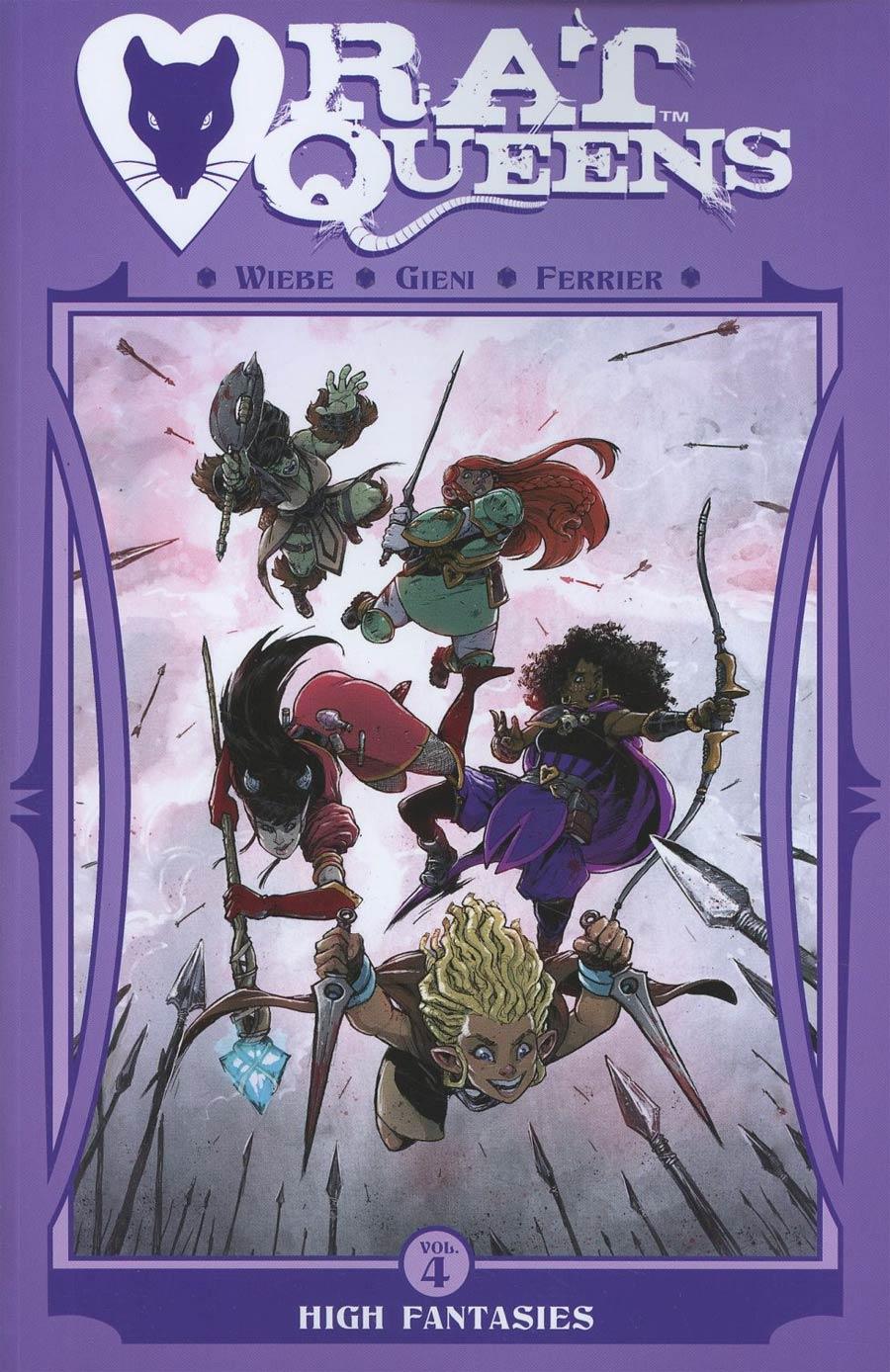Rat Queens Vol 4 High Fantasies TP