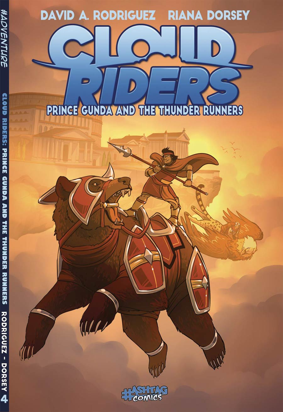 Cloud Riders Prince Gunda And The Thunder Runners GN