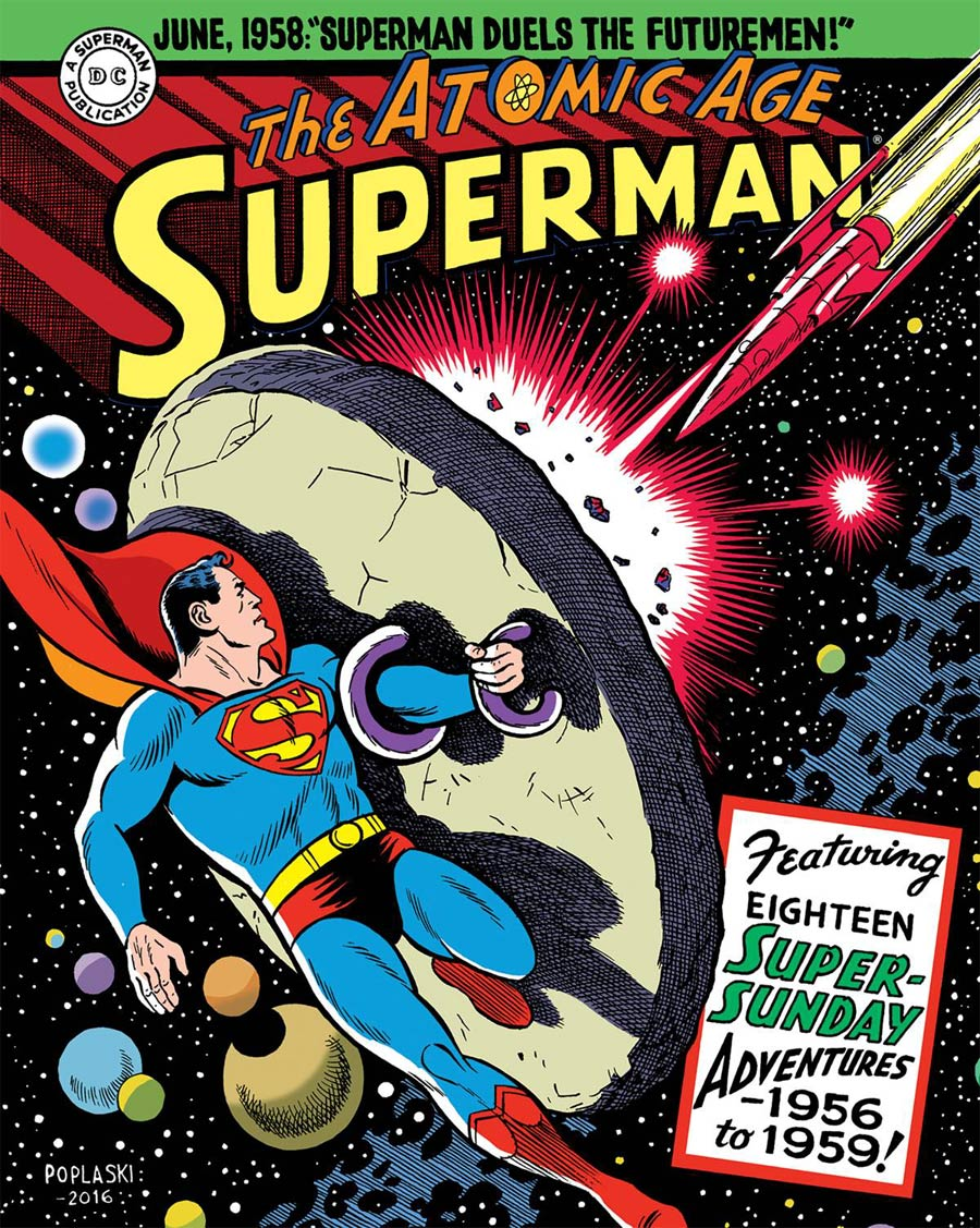 Superman Atomic Age Sundays Vol 3 1956-1959 HC