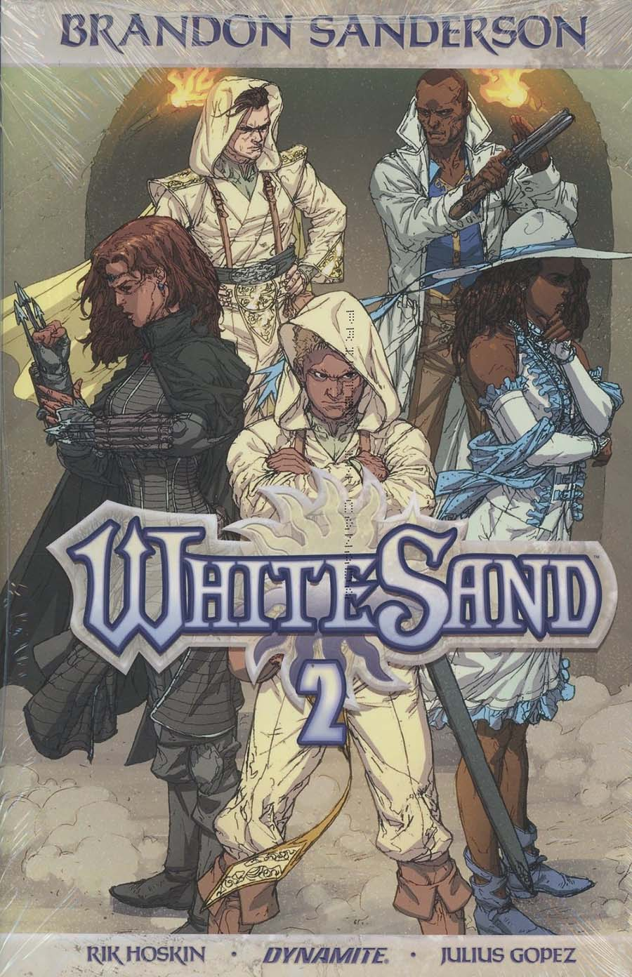 Brandon Sandersons White Sand Vol 2 HC Regular Edition