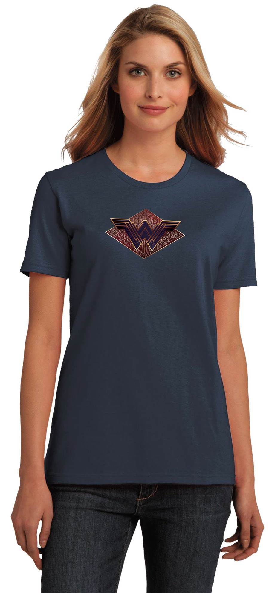 Wonder Woman Movie Symbol II Womens T-Shirt Large