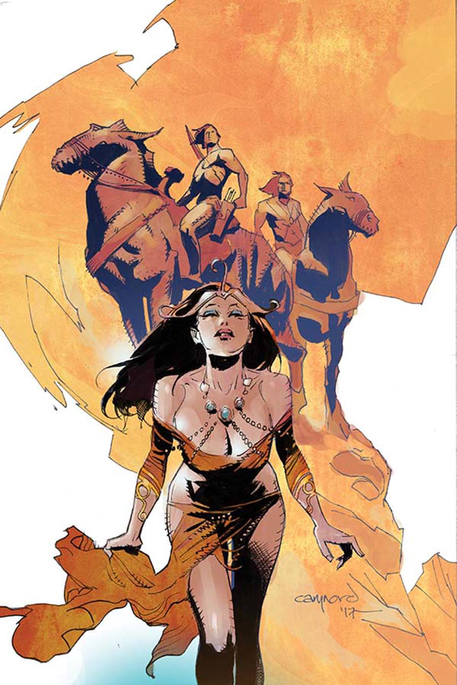 Greatest Adventure #7 Cover D Incentive Cary Nord Virgin Cover