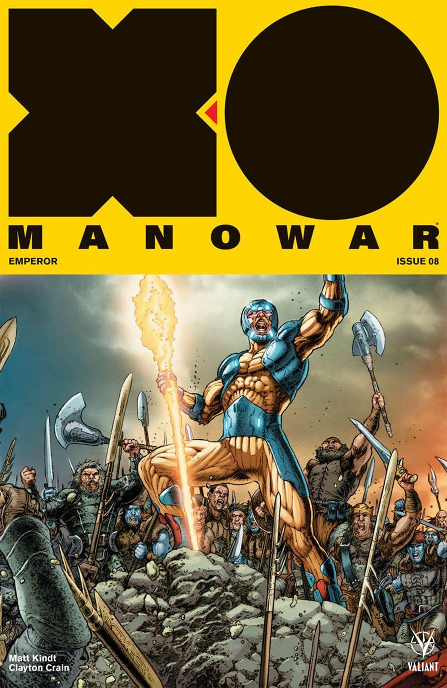 X-O Manowar Vol 4 #8 Cover D Incentive Juan Jose Ryp Interlocking Variant Cover