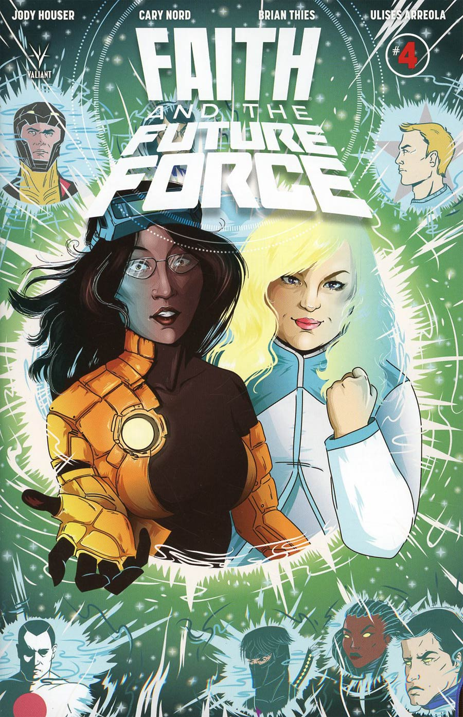 Faith And The Future Force #4 Cover D Incentive Chryssy Cheung Variant Cover