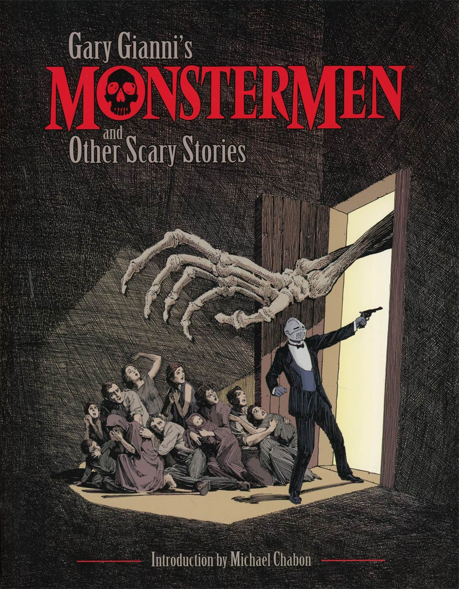 Gary Giannis Monstermen And Other Scary Stories TP