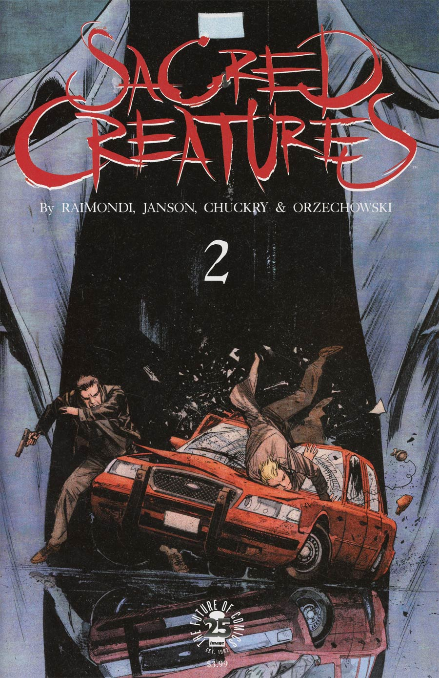 Sacred Creatures #2 Cover C Incentive Sean Murphy Variant Cover