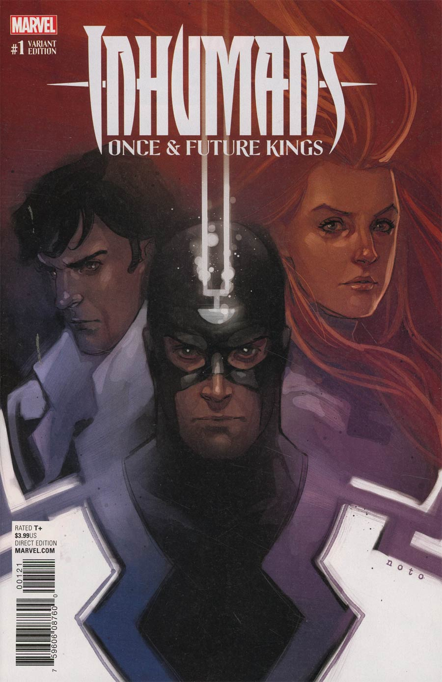 Inhumans Once And Future Kings #1 Cover D Incentive Phil Noto Variant Cover