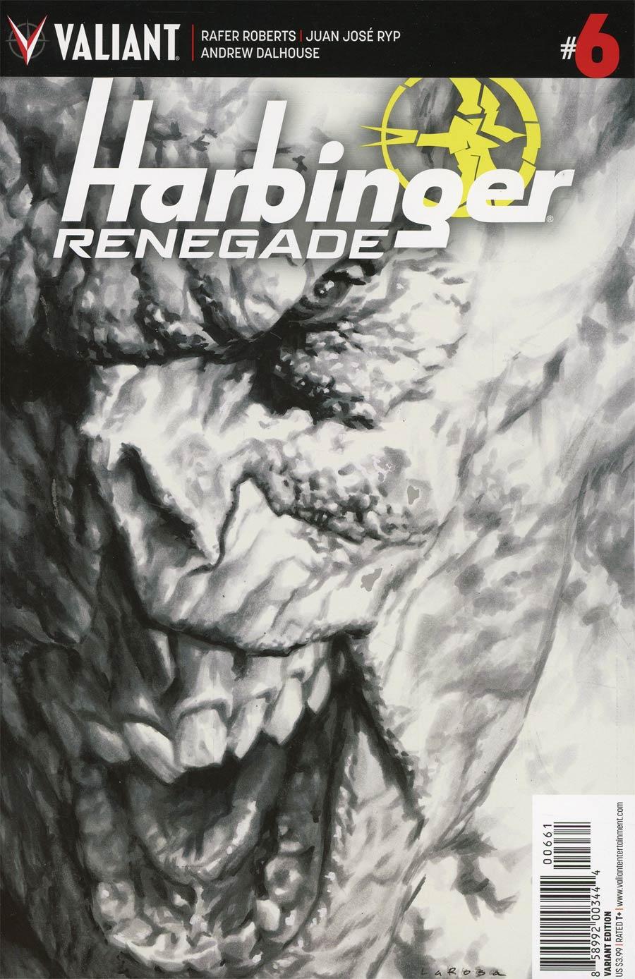 Harbinger Renegade #6 Cover F Incentive Lewis Larosa Sketch Cover