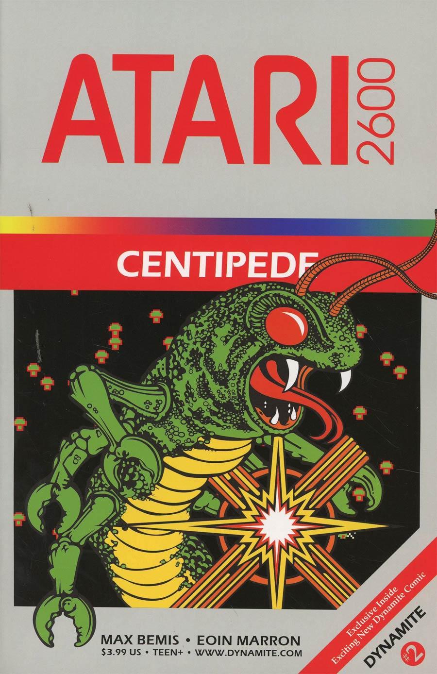 Centipede #2 Cover E Incentive Classic Game Art Variant Cover