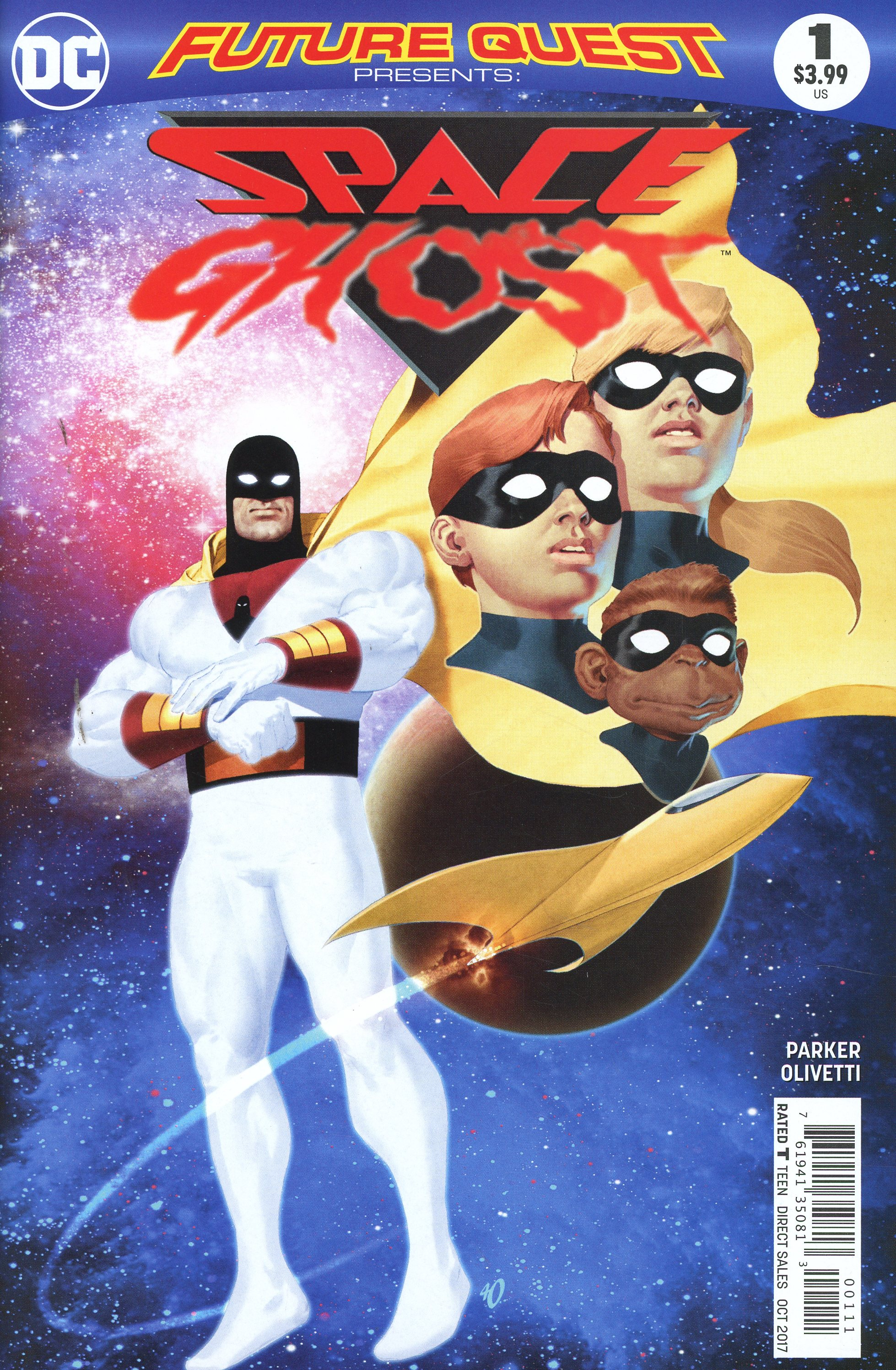 Future Quest Presents #1 Cover C Variant Blank Cover