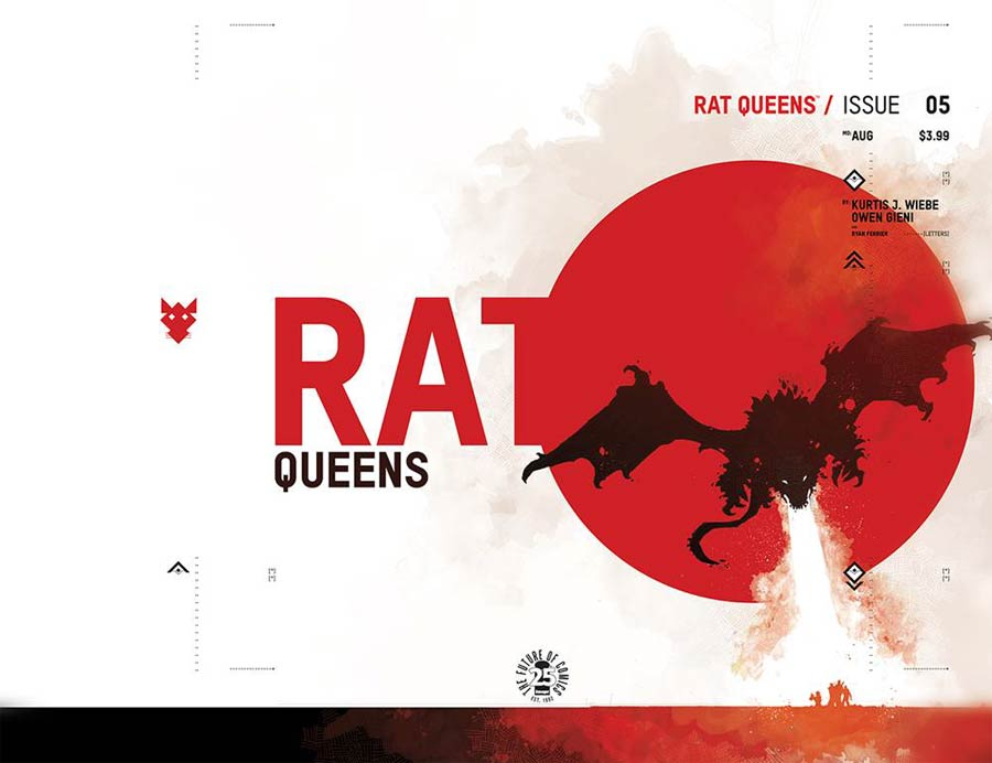 Rat Queens Vol 2 #5 Cover C Variant Jonathan Hickman Month Cover