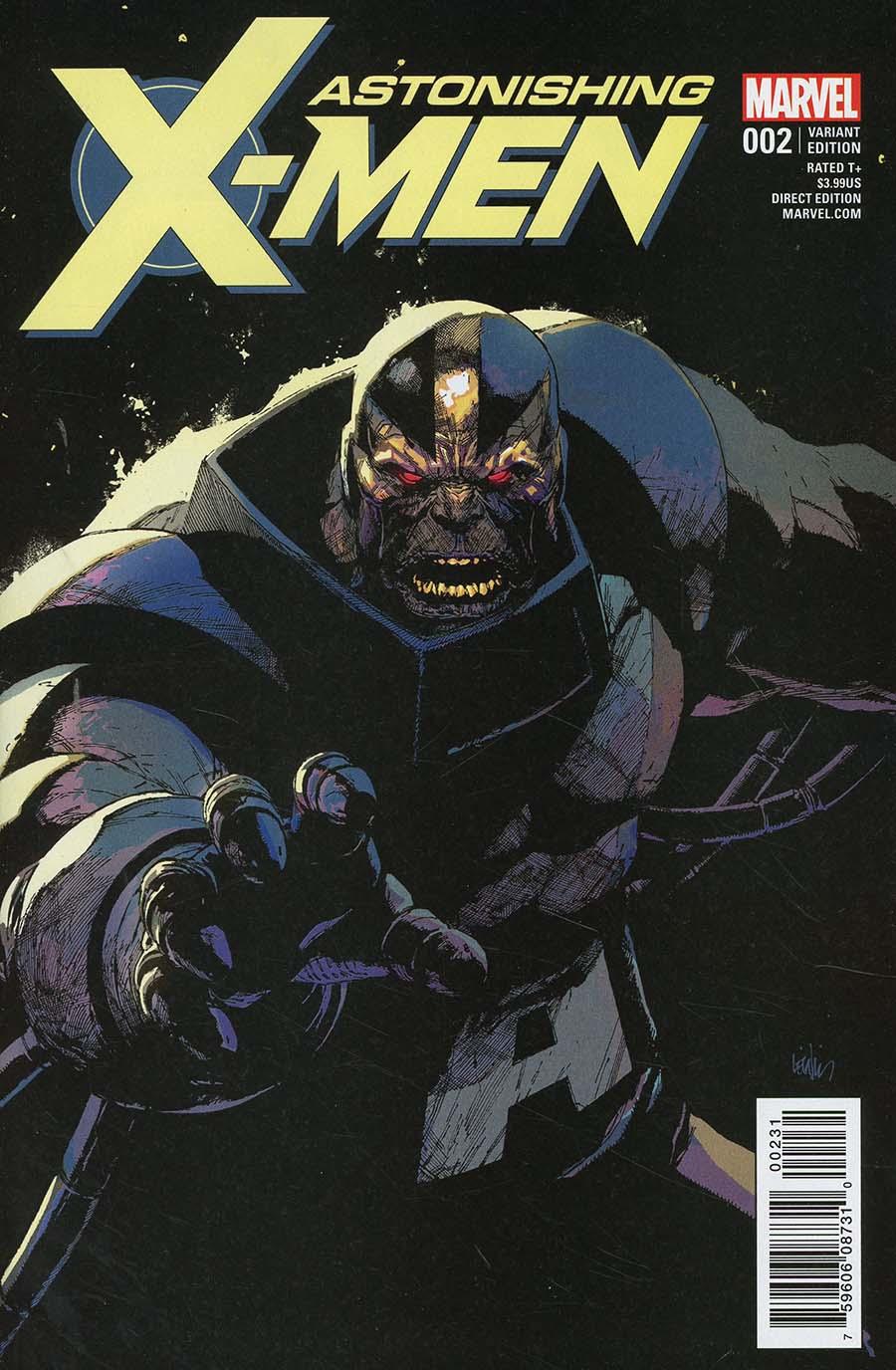 Astonishing X-Men Vol 4 #2 Cover D Incentive Leinil Francis Yu Villain Variant Cover