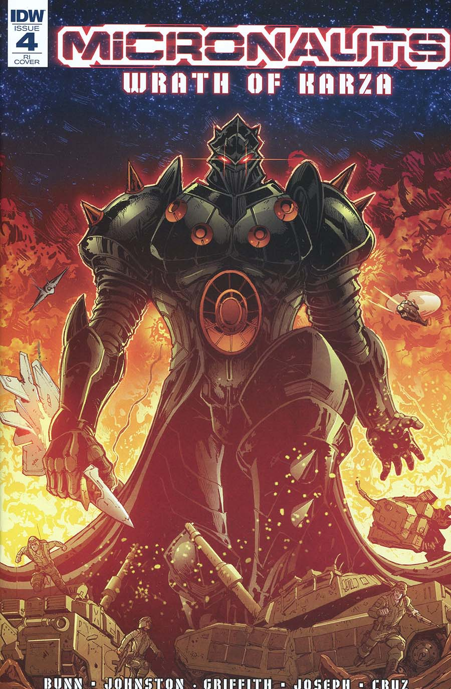 Micronauts Wrath Of Karza #4 Cover C Incentive Andrew Griffith Variant Cover